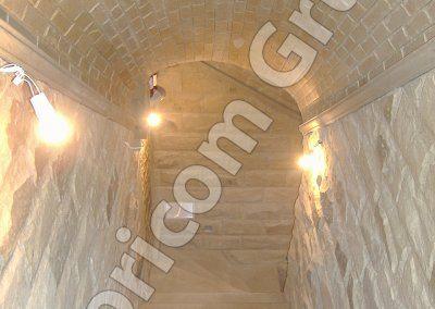 Подвалы из натурального камня