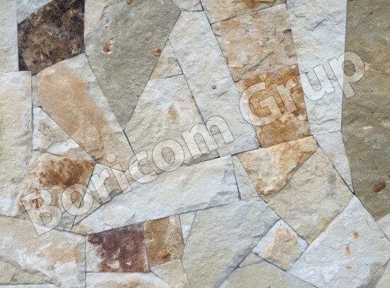Рваный камень (тонкий слой)